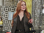 See Lindsay Lohan in 2 Broke Girls