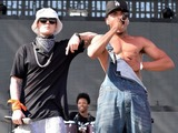 Justin Bieber and Chance The Rapper at Coachella