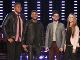 Usher's Top 3 on The Voice: TJ Wilkins, Josh Kaufman and Bria Kelly