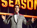 John Lloyd Young plays Frankie Valli in the musical biography film.