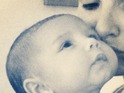 Nadine Coyle shares first baby picture