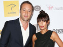 Alex O'Loughlin ties the knot with girlfriend Malia Jones in Hawaii.