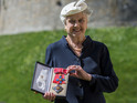 Murder, She Wrote actress is honoured at Windsor Castle for her long career.