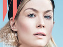 Rosamund PIke on the cover of W magazine