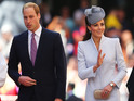 Royal couple will visit the September 11 memorial and an NBA basketball game.