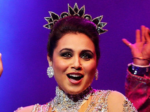 Rani Mukerji performs live for fans at Allphones Arena