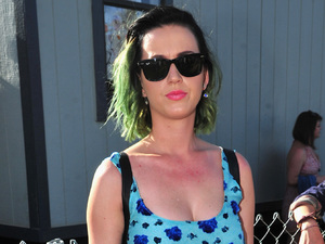 INDIO, CA - APRIL 13: Singer Katy Perry attends day 3 of the 2014 Coachella Valley Music & Arts Festival at the Empire Polo Club on April 13, 2014 in Indio, California. (Photo by Frazer Harrison/Getty Images for Coachella)