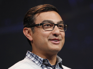 Vic Gundotra at Google's annual developer conference, Google I/O