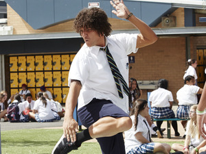 Chris Lilley reveals secrets about his latest comedy project Jonah from Tonga.