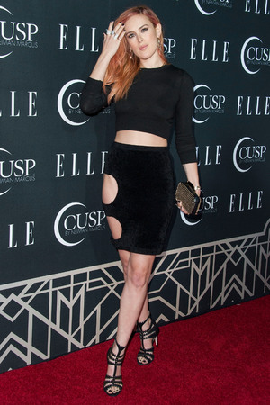 HOLLYWOOD, CA - APRIL 22: Rumer Willis attends the 5th Annual ELLE Women in Music Celebration presented by CUSP by Neiman Marcus. Hosted by ELLE Editor-in-Chief Robbie Myers with performances by Sarah McLachlan, Angel Haze and Betty Who, with special DJ set by Rumer Willis at Avalon on April 22, 2014 in Hollywood, California. (Valerie Macon/Getty Images)