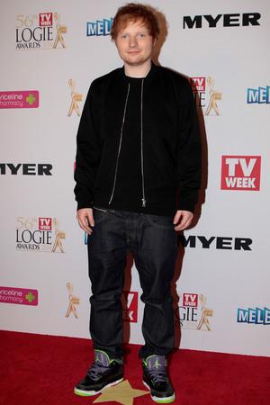 Australian Logie Awards 2014: Ed Sheeran