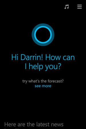 Windows Phone 8.1: Cortana