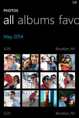 Windows Phone 8.1: Photos