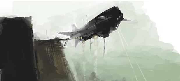 Eden Falls concept art