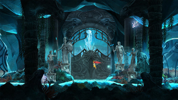 Flooded land in Child of Light