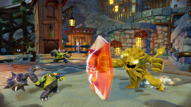 Wildfire in Skylanders: Trap Team