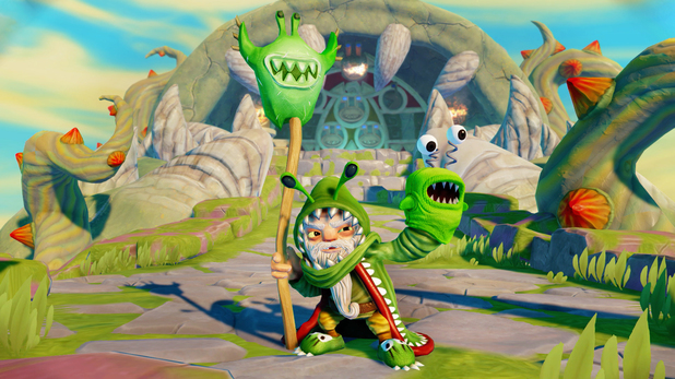 Villain Chompy Mage in Skylanders: Trap Team