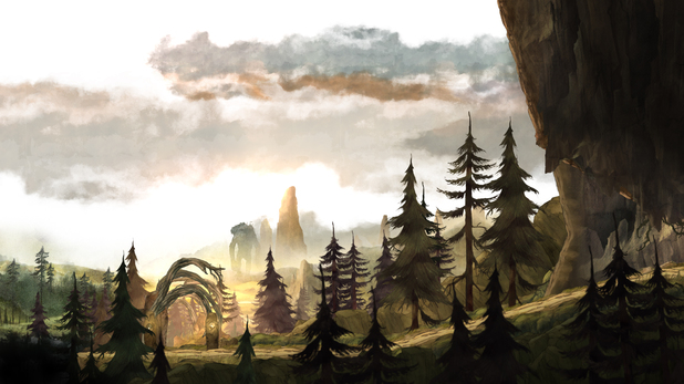 Plains of Rambert in Child of Light