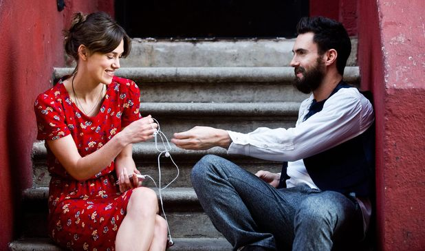 Keira Knightley, Adam Levine in Begin Again