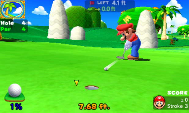 Mario Golf: World Tour screenshot