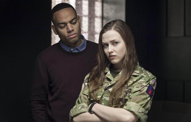 Elinor Crawley & Ben Bailey Smith in Law & Order: UK episode 8