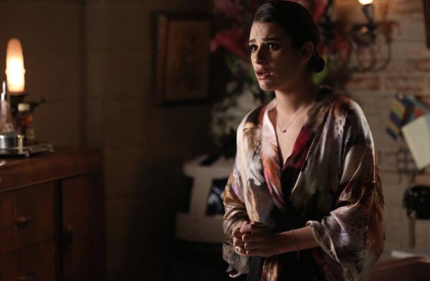 Lea Michele as Rachel in Glee S05E17: 'Opening Night'