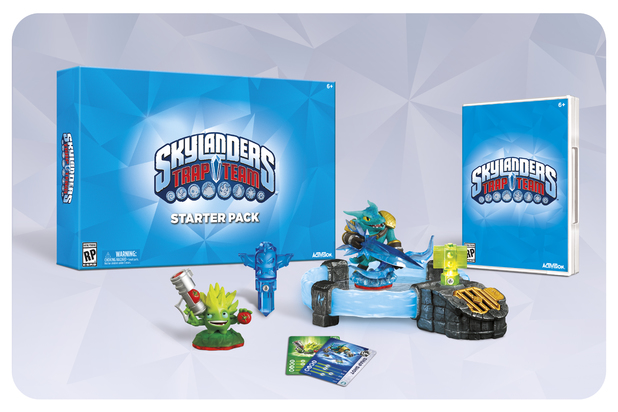 The Skylanders: Trap Team starter pack