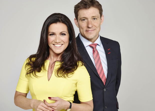Susanna Reid & Ben Shephard on Good Morning Britain
