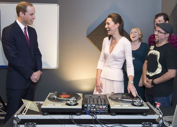 The Duke and Duchess learn to DJ while on Australian tour