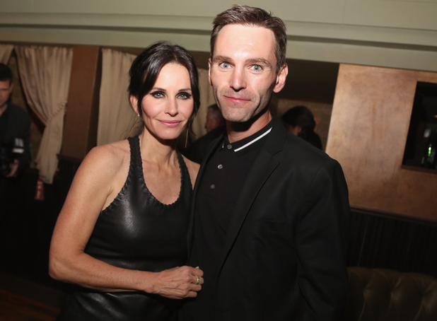 NEW YORK, NY - APRIL 24: Courteney Cox and Johnny McDaid attends the 'Just Before I Go' Premiere after party during the 2014 Tribeca Film Festival sponsored by Bombay Sapphire at The Flatiron Room on April 24, 2014 in New York City. (Photo by Rob Kim/Getty Images for the 2014 Tribeca Film Festival)