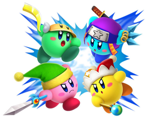 Kirby Triple Deluxe artwork