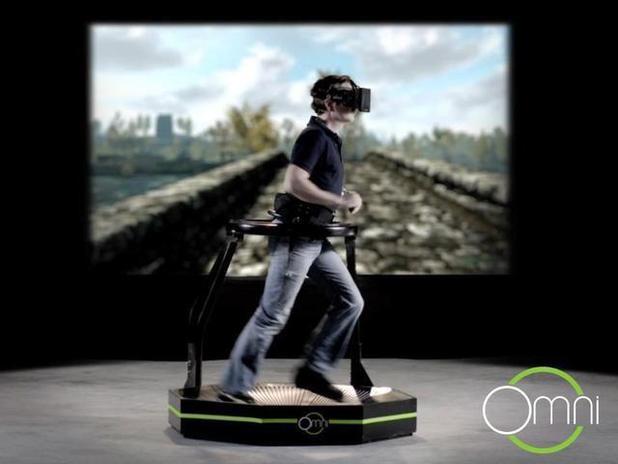 Virtuix's Omni VR Treadmill