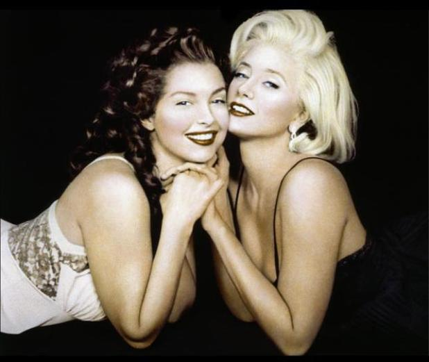 Ashley Judd, Mira Sorvino Norma Jean & Marilyn 1996