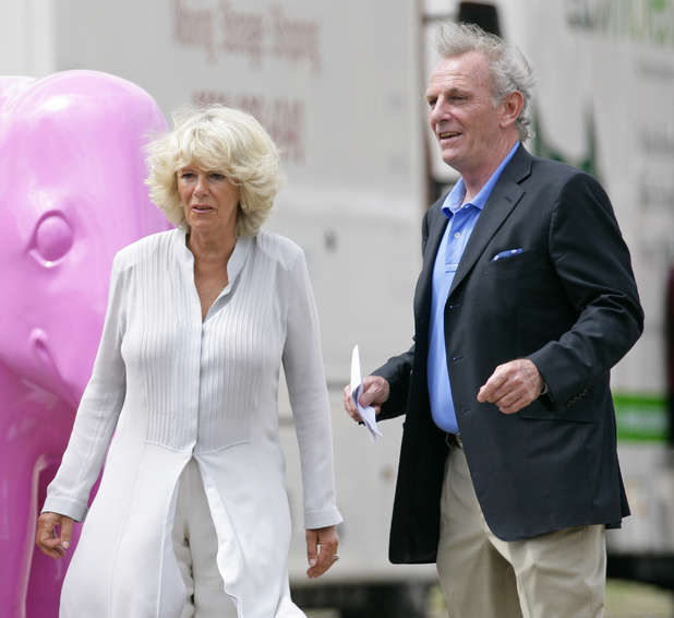 Camilla, Duchess of Cornwall with her brother Mark Shand