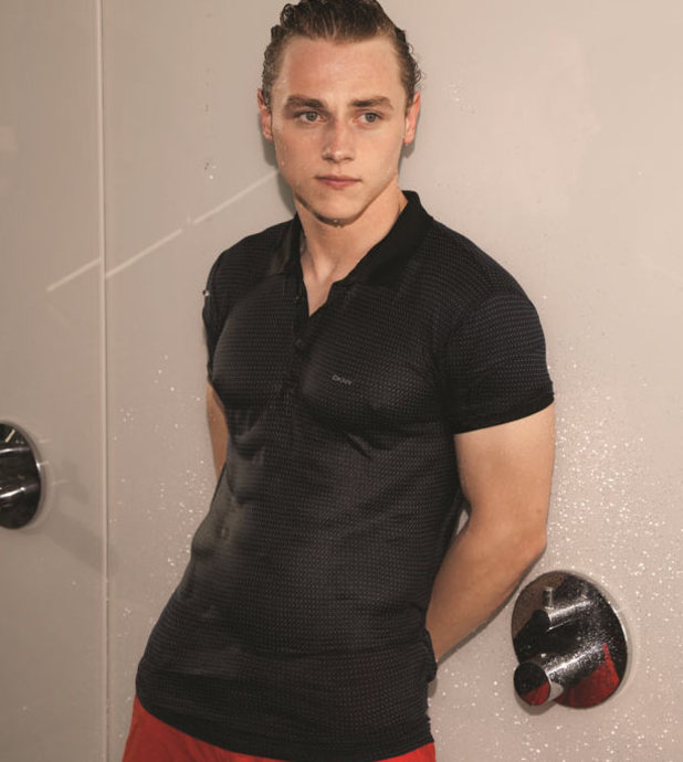 Ben Hardy photoshoot for Attitude magazine