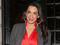 Amal Clooney sits in the top spot among previous winners such as Nelson Mandela and Hillary Clinton.
