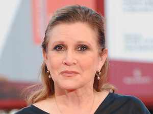 Carrie Fisher attends 'Gravity' premiere and Opening Ceremony during The 70th Venice International Film Festival