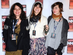 Stella Mozgawa, Theresa Wayman and Emily Kokal of Warpaint
