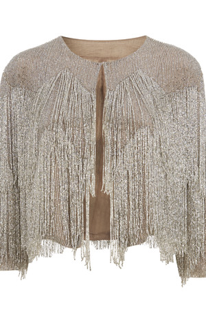 Kate Moss, topshop beaded jacket