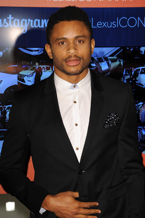 Nnamdi Asomugha attends Icon Mann's 2nd Annual Power 50 Pre-Oscar dinner