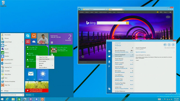 Windows 8 with Start Menu