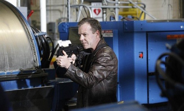 Kiefer Sutherland in 24 season 8
