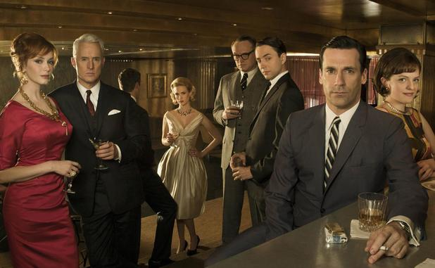 The cast of Mad Men season 4