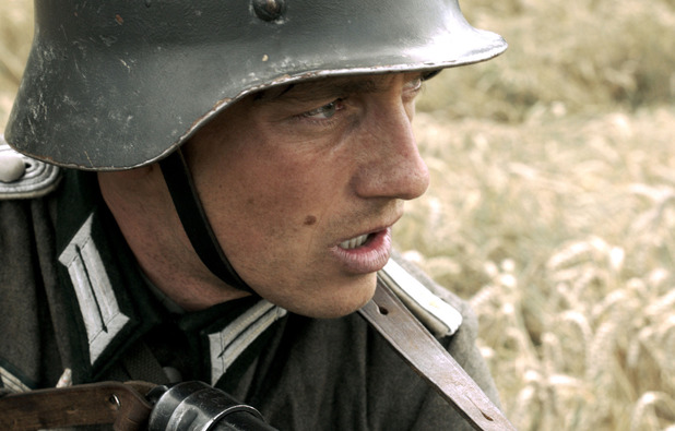 Volker Bruch as Wilhelm in Generation War episode 2
