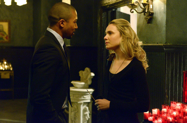 Charles Michael Davis as Marcel and Leah Pipes as Cami in The Originals S01E20: 'A Closer Walk with Thee'