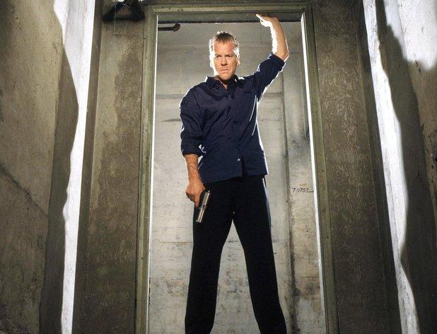 Kiefer Sutherland in 24 season 3