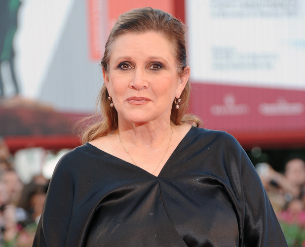 Carrie Fisher Star Wars Episode 7