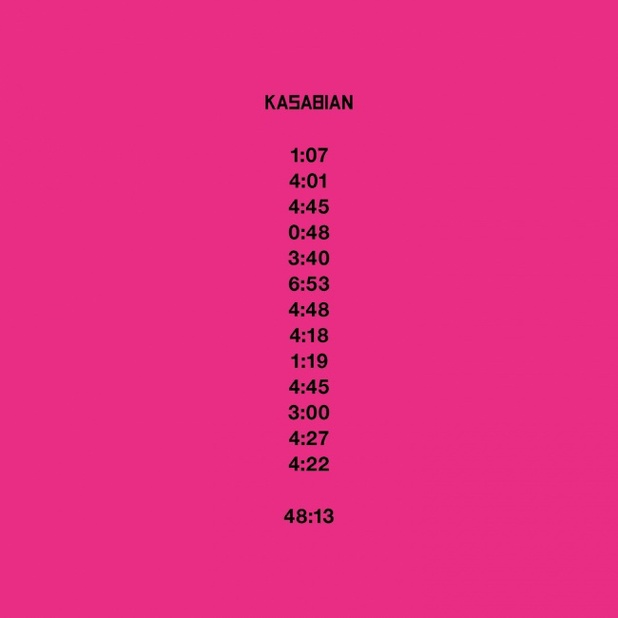 Kasabian - 48:13 album cover