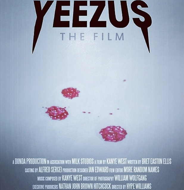 Kanye West s Yeezus film unveils first posterYeezus Movie Poster