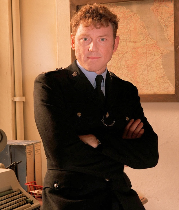 Mark Jordon as PC Bellamy in Heartbeat